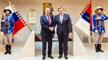 Danko se reúne con Lavrov y destacan la importancia de la lucha contra el fascismo