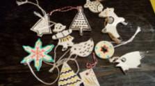 Domáca výroba vianočných ozdôb