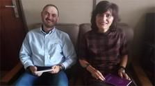 En nuestra redacción recibimos a dos huéspedes de Galicia