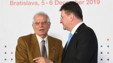 Cancilleres del V4 se reúnen con Alto Representante de la UE para Asuntos Exteriores y Política de Seguridad