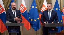 Председатель Евросовета Шарль Мишель в Братиславе