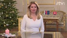 Políticos eslovacos se pronuncian en torno al discurso de Nuevo Año de Zuzana Čaputova
