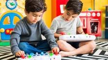 Moderné hudobné nástroje pre deti