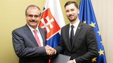 Secretario de estado de Exteriores recibe a nuevo embajador de Irak para Eslovaquia