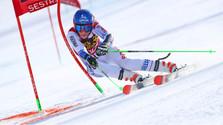 Vlhová vyhrala obrovský slalom