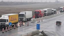 Забастовка словацких водителей продолжается