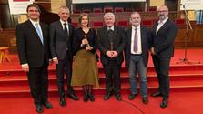 Ján Langoš-díjal tüntették ki Tóth Pétert