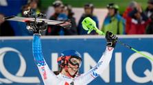 Vlhovej triumf v slalome