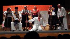 Ochotnícke divadlo v Poltári