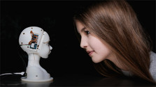 Would you 'trust' a 'sociable' robot if it looked and sounded really human?