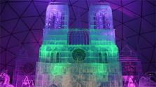 Visitamos la catedral de Notre-Dame de hielo en Hrebienok