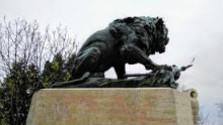 Vozokanský lev pripomína slávnu bitku