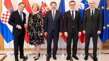Los presidentes de los parlamentos del Formato de Austerlitz se reúnen en Bratislava