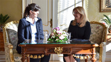 La presidenta Zuzana Čaputová se entrevistó con la fiscal general europea, Laura Codruța Kövesi