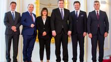 Los presidentes de los parlamentos del Formato de Austerlitz apoyan la entrada de Serbia y Montenegro en la UE