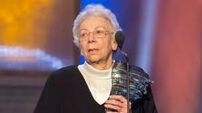 Dorota Pospíšilová celebra su 90 cumpleaños