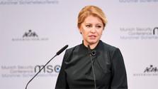 Slowakische Präsidentin bei Sicherheitskonferenz in München