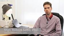 Vedec Róbert Sabo v Ráne na eFeMku