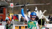Petra Vlhová triunfa en el slalom de Kranjska Gora