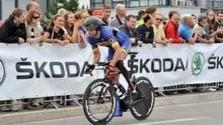 Paracyklista Patrik Kuril