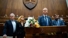 Se celebra la sesión extraordinaria del Parlamento eslovaco