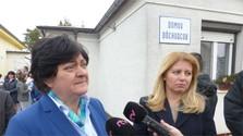 Čaputová se reúne con la defensora del pueblo