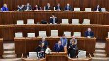 El presidente del Parlamento, Andrej Danko, suspendió la sesión extraordinaria hasta el jueves