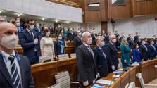 Konstituierende Sitzung des Parlaments
