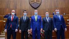 Los diputados eligen al resto de vicepresidentes del Parlamento