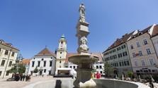 Братиславские фонтаны снова заработали!