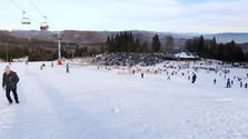 KRÁLIKY - la station de sports d'hiver et le lieu du tourisme