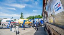 Konvoj s humanitárnou pomocou pre Ukrajinu