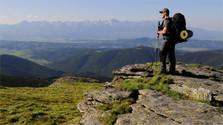 Rekord-Fernsicht in der Niederen Tatra