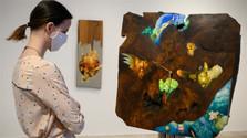 Brunovského maľby na dreve v GMB