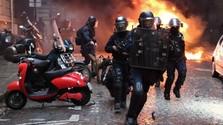 Tüntetések Párizsban