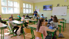 Primary schools open after more than two months