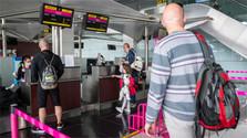 Pokles cestujúcich na bratislavskom letisku