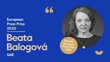European Press Prize for Slovak opinion writer