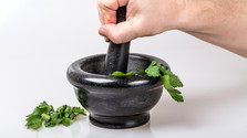 Jedlá burina a bylinky