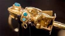 Por primera vez en estas latitudes pueden admirar el tesoro de oro de los incas