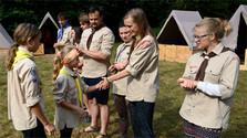 Словацкие скауты помогают детям в летних лагерях