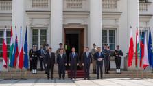 Premiers ministres du V4 à Varsovie