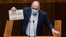 Sulík (SaS) počas 9. schôdze parlamentu_TASR.jpg