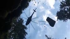 vrtuľník, slovenský raj