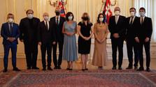 Президент З.Чапутова встретилась со словацкими евродепутатами