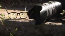 fotoaparát, okuliare