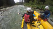Splav rieky Belá