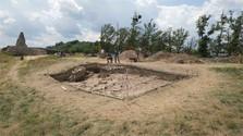 Archäologische Forschung am Pustý hrad