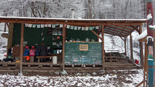 Ráno v lesnej škôlke Mravenisko