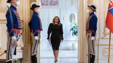 Na snímke prezidentka SR Zuzana Čaputová pred vyhlásením pre médiá_TASR.jpg